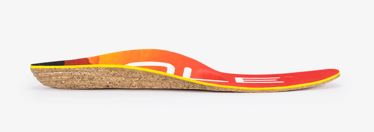 footbeds Performance Medium with Met Pad